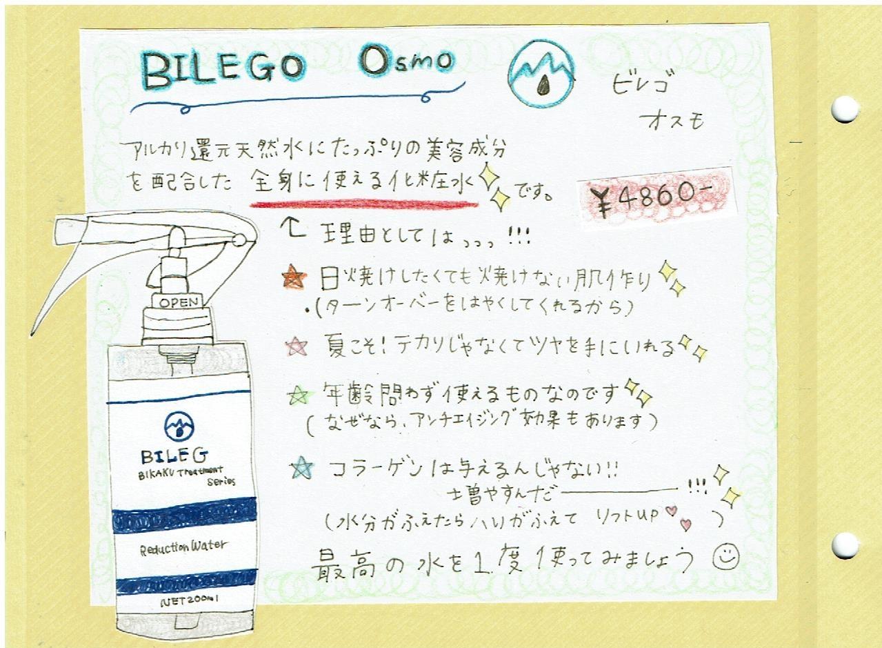 【おすすめ!】ビレゴオスモ